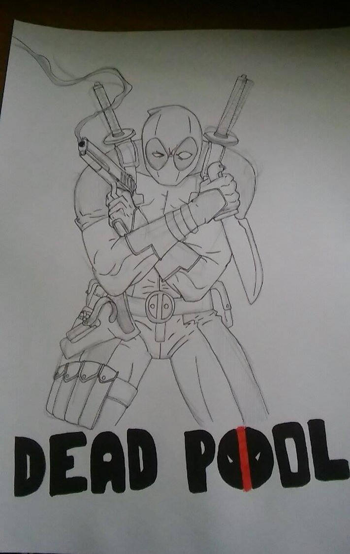 WIP Deadpool by MRJACEG