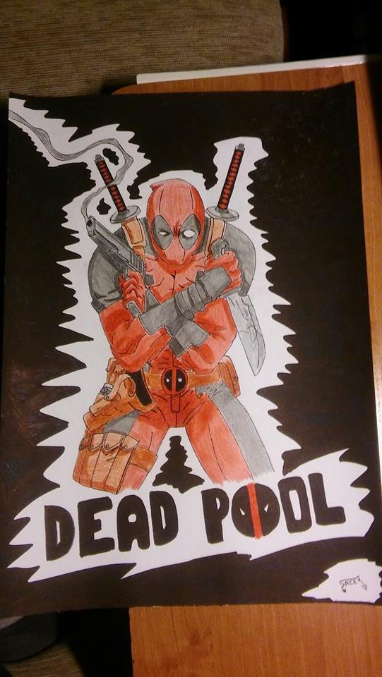 Deadpool by MRJACEG