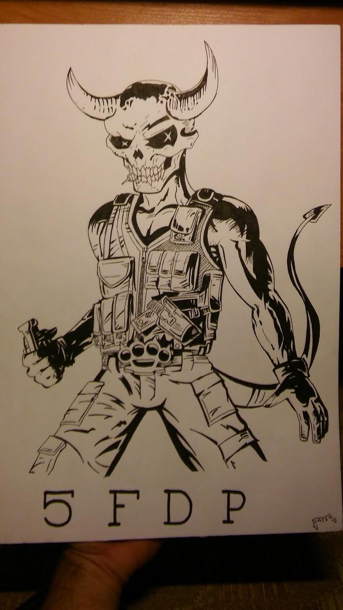 Five Finger Death Punch Wrong Side Of Heaven by MRJACEG