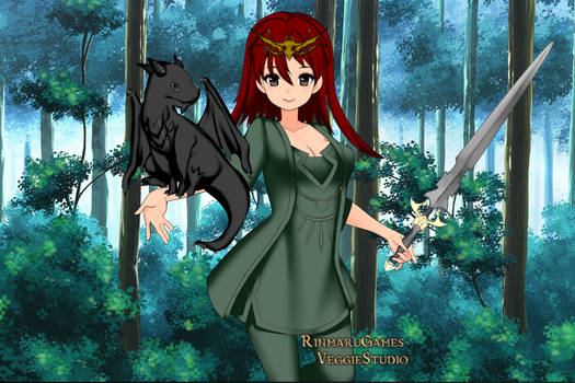 Dark as dragon and Hanna June