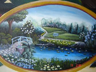 english garden by M1rrage