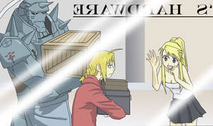 Ed Al Winry for PookiesUncle