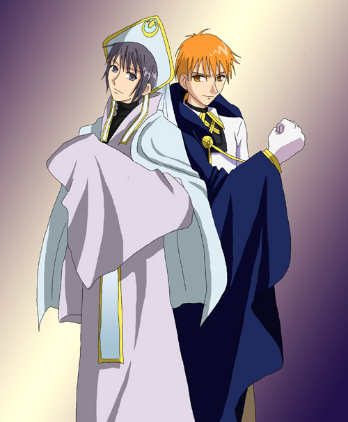 Fruits Basket Kyo And Yuki Fighting Yuki and Kyo for Pooki...