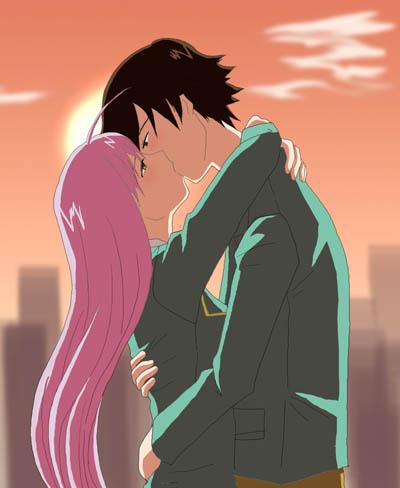 Romantic Pictures - Page 5 Tsukune_Moka_for_kinggigasmon_by_taichikun14