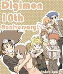 Digimon-anime 10th Anniversary
