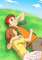 Izzy and Rita for lovelychu by taichikun14