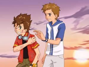 Takumi and Takato for Nelanequin