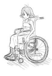 Rei Saiba sketch for RMZERO