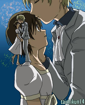 Tamaki x Haruhi:  Hanabi Kiss