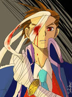 Apollo Justice on GS5 by Sakudrew