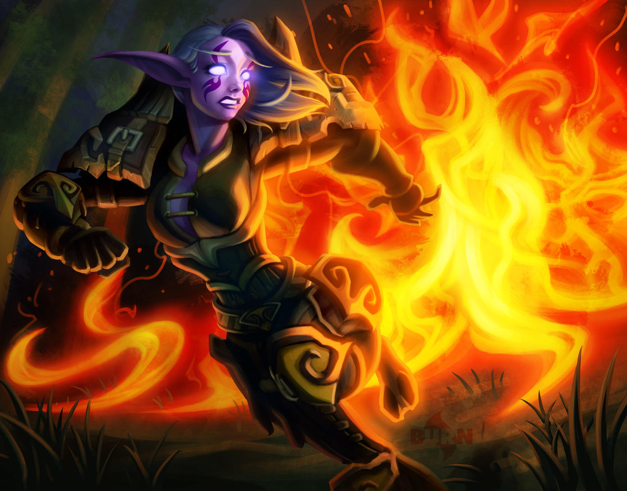 Doomfire by burncomics