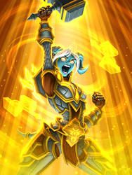 Hearthstone Lightforged Crusader