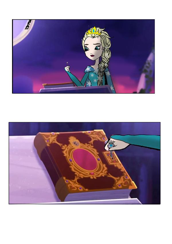 Venez postez vos photos (images) drôles / amusantes de Disney - Page 2 Elsa_in_ever_after_high_3_by_lady__knight-d7auihv