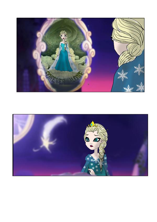 Venez postez vos photos (images) drôles / amusantes de Disney - Page 2 Elsa_in_ever_after_high_6_by_lady__knight-d7aulpc