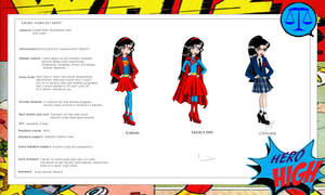 Hero High: Superman's daughter