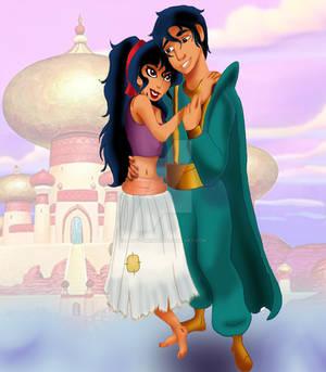 Rule 63!Aladdin artwork