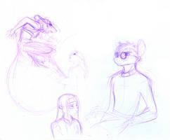 Prydwen Development Sketches