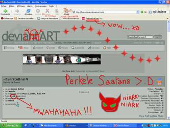 The Evil Desktop by BurritoBraiN