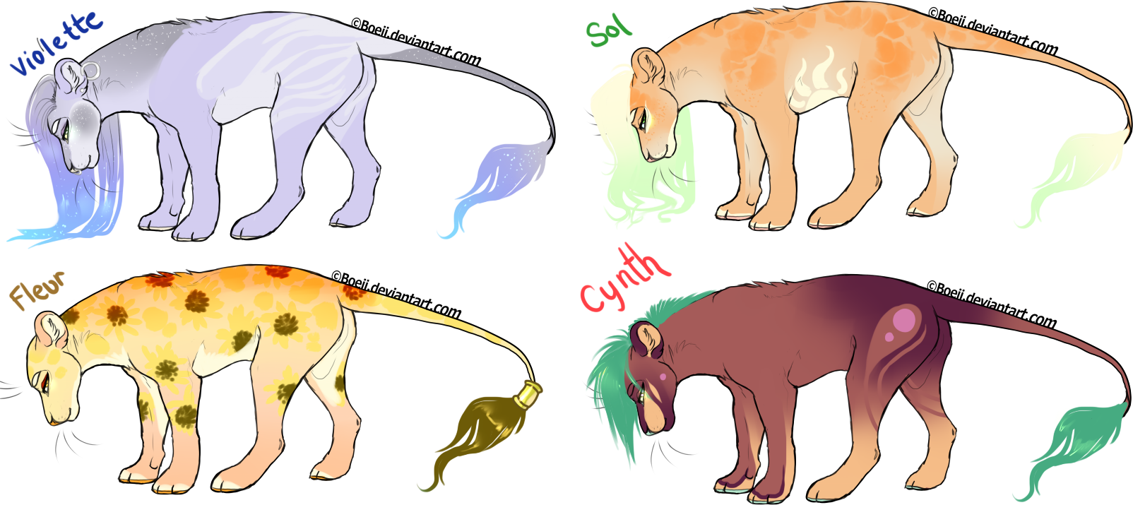 Lioness Adopts (taking all offers) by kitease