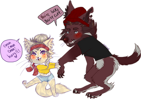 werewolves don't wear pants by kitease
