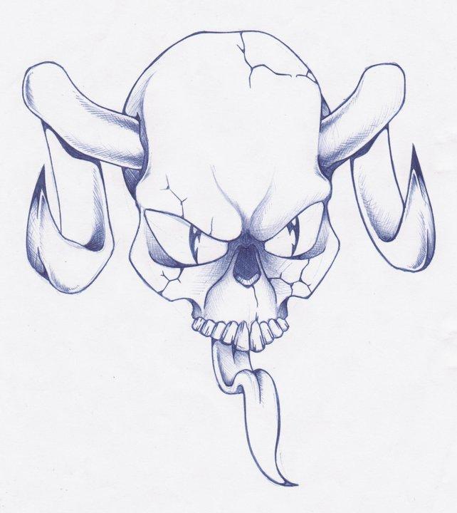 Evil Skull by IncognosDESIGN on DeviantArt