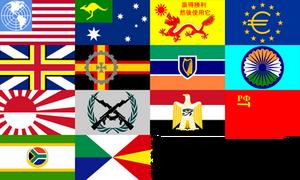 Fictional World Flags