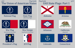 Union of American States Flags