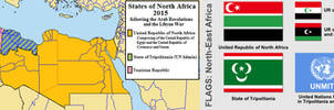 Map of North Africa by Martin23230