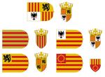 Flags and Arms of Aragon