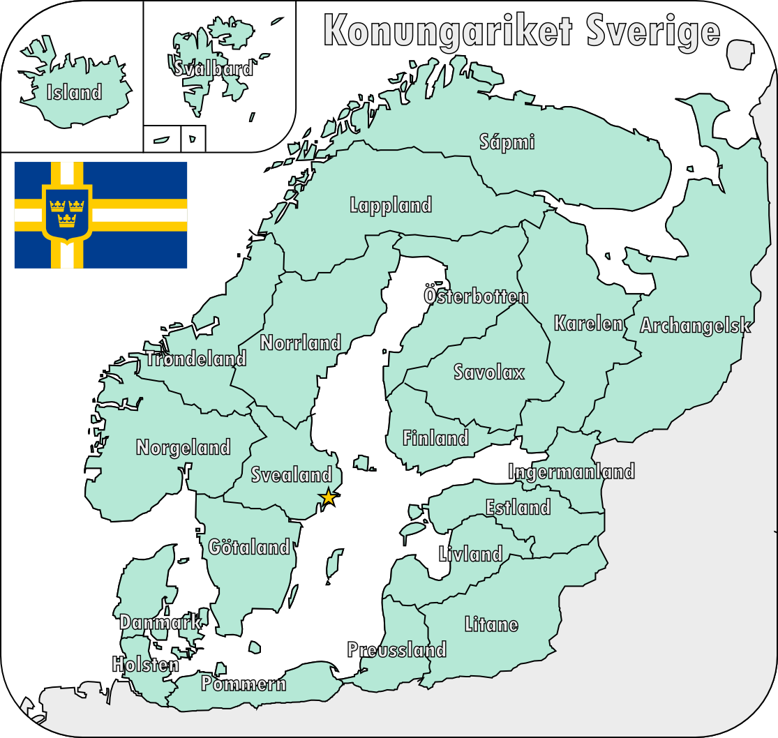 Map of the Swedish Empire by Martin23230