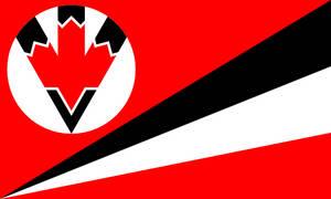 Fascist Canada Flag
