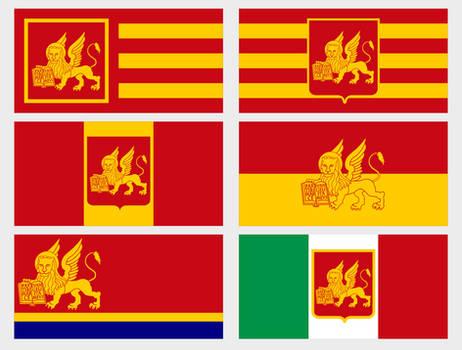 Modern Venice Flags