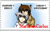 CarlosxRaine stamp by Erix19