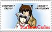 CarlosxRaine stamp by Erix19