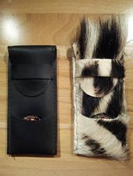 Custom Leather Dart Case by siegeandspike