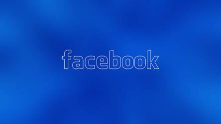 Facebook Cool Blue Wallpaper