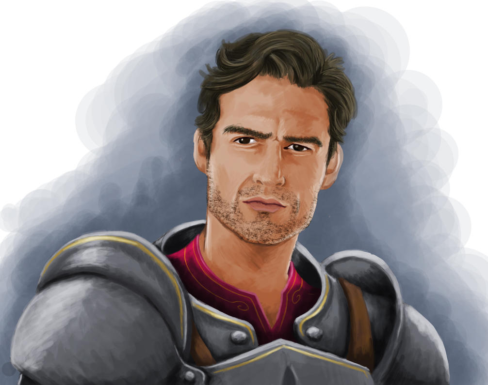 Knight-Captain Troy by Sophiekhara