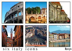 Italy Stock Icons