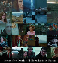 25 Deathly Hallows Icons