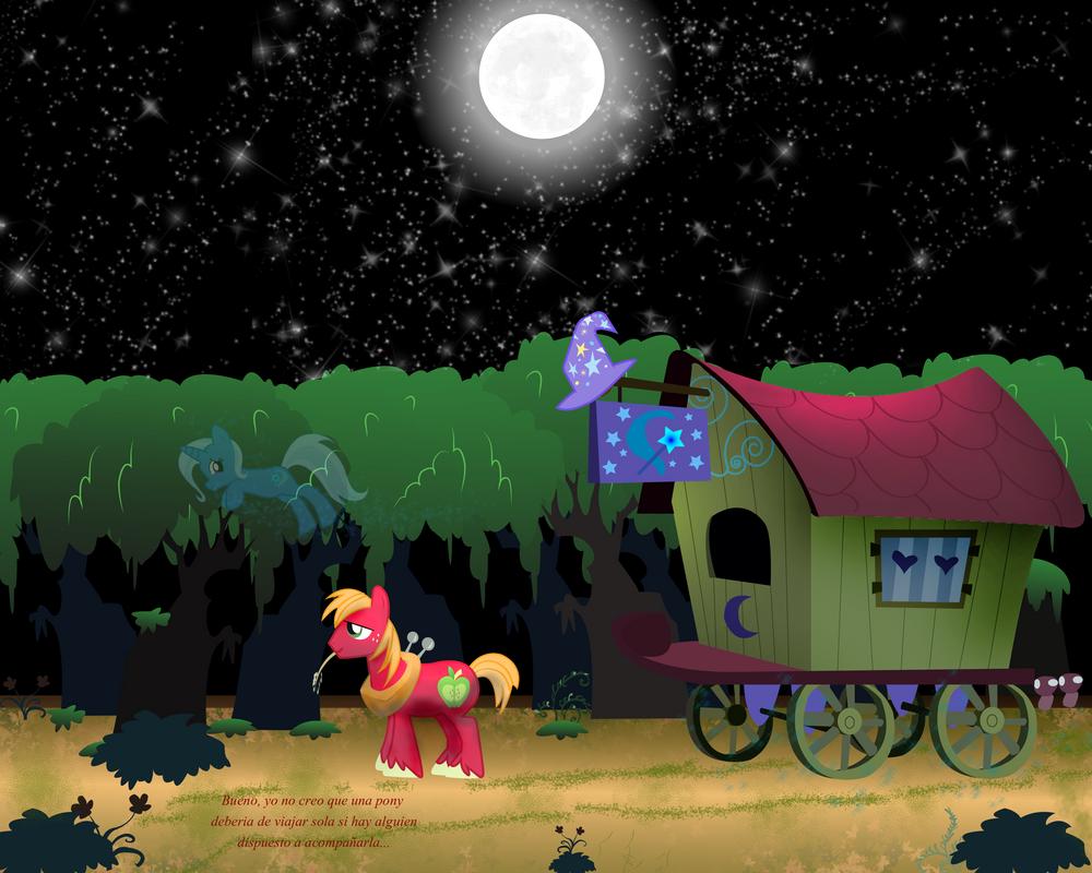 Bajo la misma luna by bigccv on deviantart for Mural la misma luna
