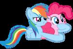 Tu y yo esta noche Pinkie