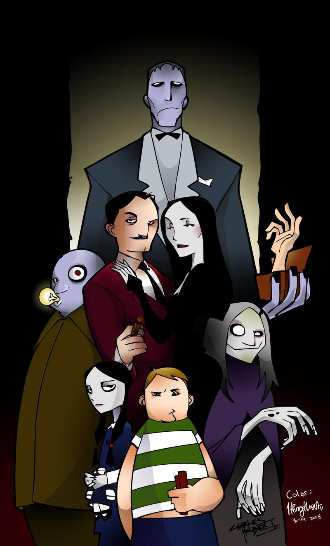 Addams family by Blazingwire