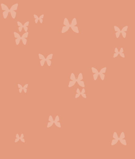 Peach-butterflies by tbg-stock-images