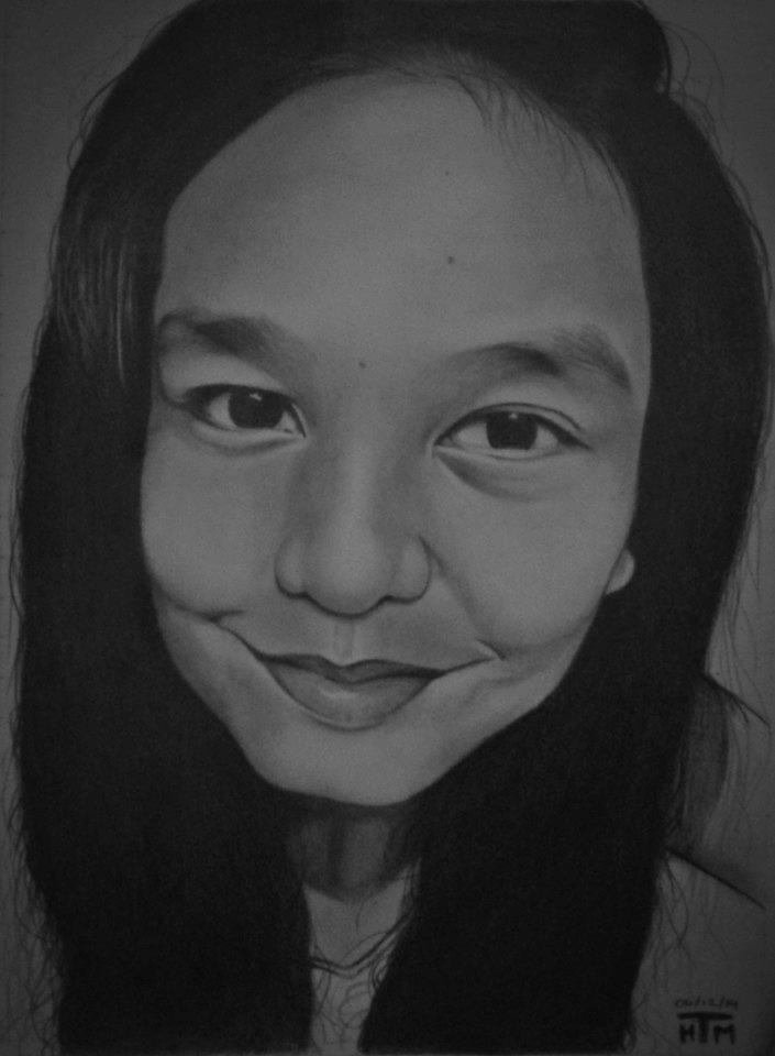 Maureen - Art Gift by haroldmanalo