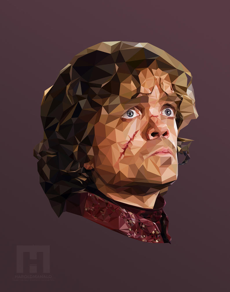 Game of Thrones - Tyrion Lannister ( Low Poly) by haroldmanalo