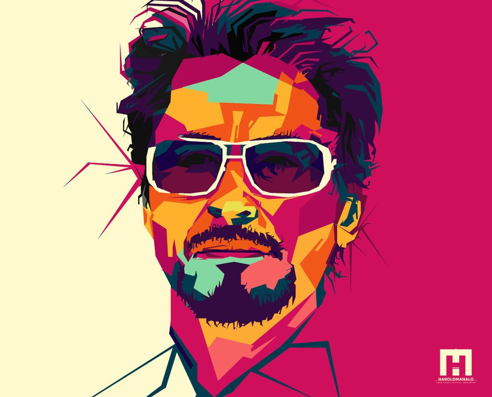 WPAP | Tony Stark by haroldmanalo