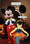 Anne-Marie meets Mickey Mouse by retroking1988