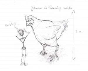 Johann the Werechicken