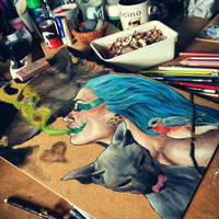 Work in progress by Cleicha