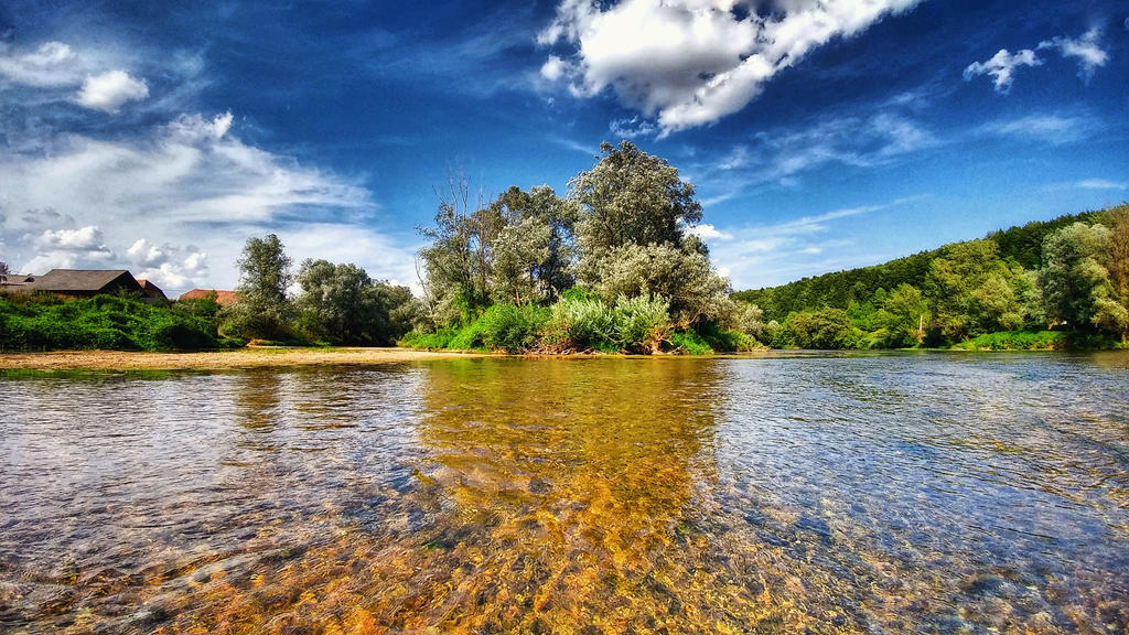 River Krka by Cleicha